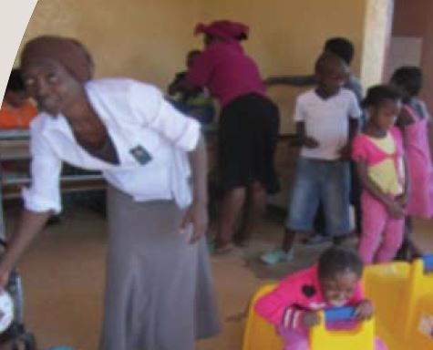 Thembalethu Disabled Children's Centre in Witbank